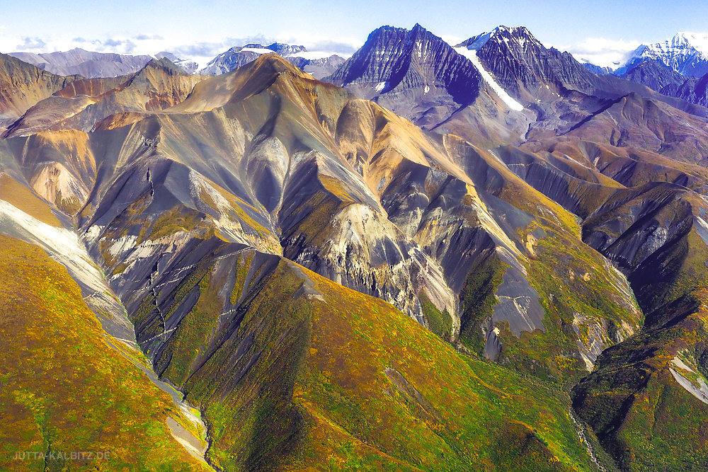 Wrangell - St. Elias Nationalpark (aerial)