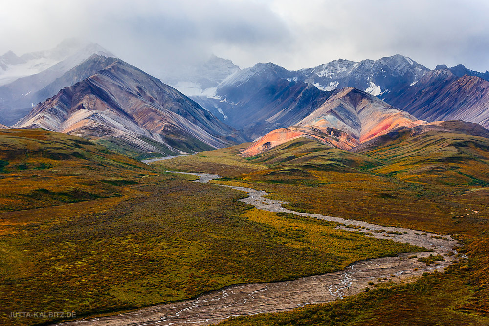 Polychrome Mountains - Denali Nationalpark