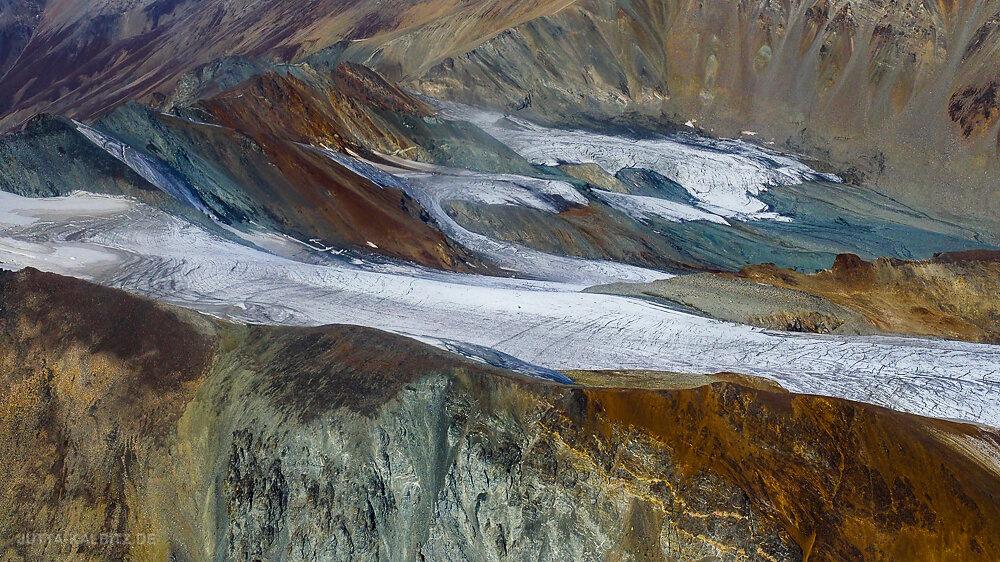 Schwindender Gletscher (Alaska)